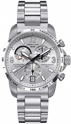 Certina DS Podium C001.639.11.037.00 Big Size Chrono GMT