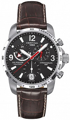 Certina DS Podium C001.639.16.057.00 Big Size Chrono GMT