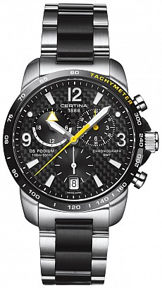 Certina DS Podium C001.639.22.207.01 Big Size Chrono GMT