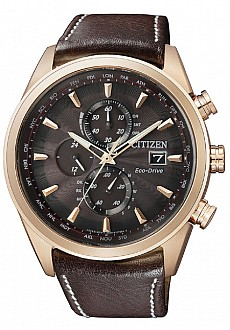 Citizen Elegance AT8019-02W Chrono Radio Controlled Eco-Drive