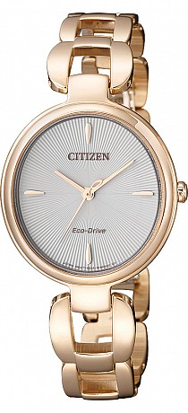 Citizen L Serie EM0423-81A Lady Analog Eco Drive