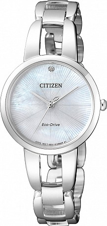 Citizen L Serie EM0430-85N Lady Analog Eco Drive