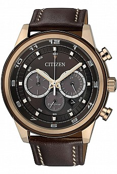 Citizen Sports CA4037-01W Eco Drive Ring Chrono