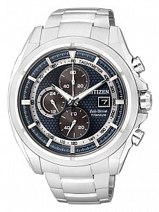 Citizen Super titanium CA0550-52L Chrono Eco Drive