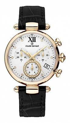 7c3fac38d Claude Bernard Dress Code 10215 37R APR1 Lady Chronograph