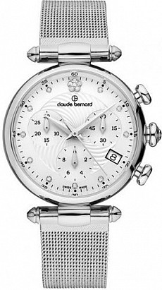 Claude Bernard Dress Code 10216 3 APN2 Lady Chronograph