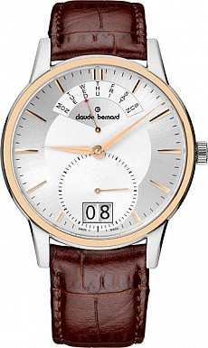 Claude Bernard Classic 34004 357R AIR Big Date Retrograde Day