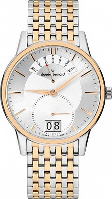 Claude Bernard Classic 34004 357RM AIR Big Date Retrograde Day