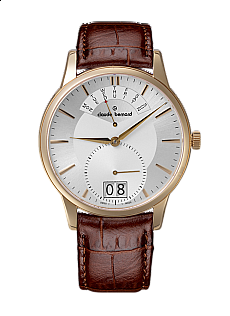 Claude Bernard Classic 34004 37R AIR Big Date Retrograde Day