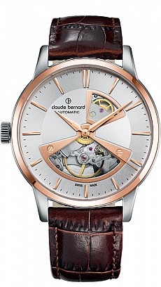 Claude Bernard Classic 85017 357R AIR2 Automatic Open Heart