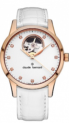 Claude Bernard Classic 85017 37R APR Automatic Open Heart