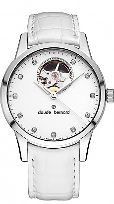 Claude Bernard Classic 85018 3 APN Lady Automatic Open Heart