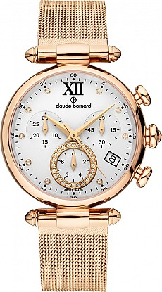 Claude Bernard Dress Code 10216 37R APR1 Lady Chronograph