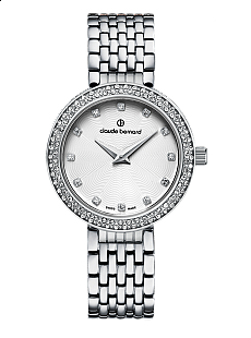 Claude Bernard Dress Code 20204 3 B Lady Slim Line