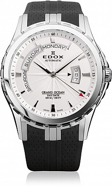 Edox Grand Ocean 83006 3 AIN Day Date Automatic
