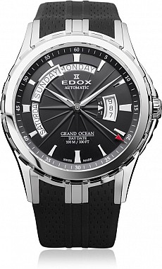 Edox Grand Ocean 83006 3 NIN Day Date Automatic