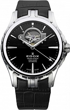 Edox Grand Ocean 85008 3 NIN Open Heart Automatic