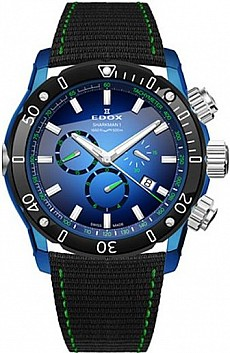 Edox Chronoffshore-1 10221 357BU BUV Sharkman Limited Edition