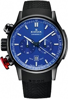 Edox Chronorally 10302 37N BUIN Chronograph