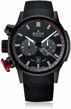 Edox Chronorally 10302 37N NIN Chronograph