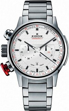 Edox Chronorally 10302 3M AIN Chronograph