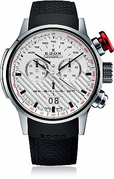 Edox Chronorally 38001 TIN AIN Quartz Chronograph