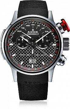 Edox Chronorally 38001 TIN NIN Quartz Chronograph