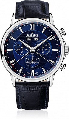 Edox Les Bémonts 10501 3 BUIN Chronograph Complication