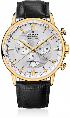 Edox Les Bémonts 10501 37J AID Chronograph Complication