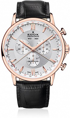 Edox Les Bémonts 10501 37R AIR Chronograph Complication