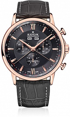 Edox Les Bémonts 10501 37R GIR Chronograph Complication