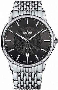 Edox Les Bémonts 56001 3M GIN SLIM LINE DATE