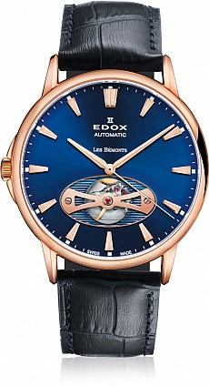 Edox Les Bémonts 85021 37R BUIR Open Heart