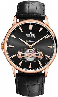 Edox Les Bémonts 85021 37R NIR Open Heart