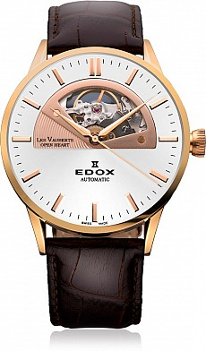 Edox Les Vauberts 85014 37R AIR Open Heart Automatic
