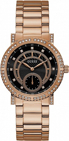 Guess Ladies W1006L2 Dress CONSTELLATION
