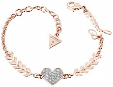 Guess UBB85087-S náramek Bracelet - CUPID Rose Gold