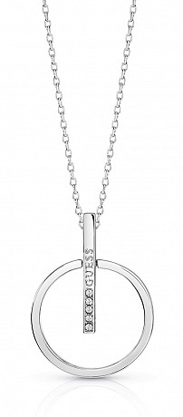 Guess UBN84056 řetízek Necklace Future Essential (silver)