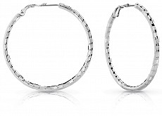Guess UBE84063 náušnice HOOPS I DID IT AGAIN (silver)