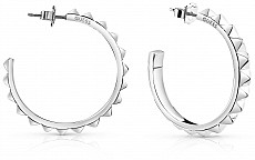 Guess UBE84065 náušnice HOOPS I DID IT AGAIN (silver)