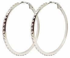 Guess UBE84073 náušnice HOOPS I DID IT AGAIN (silver)