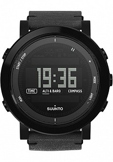 Suunto Essential Ceramics Black Leather