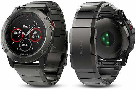 Garmin Fenix 5 X Gray Sapphire Optic Metal band s GPS ce361eb90a