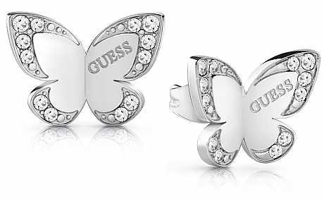 Guess UBE78010 náušnice Love Butterfly Original 7149e47ddd0