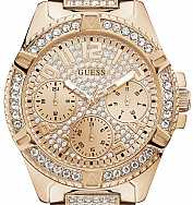 1d013bf3c Guess HODINKY W1156L3 SPORT LADY FRONTIER Rose Gold Tone ...